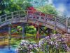 """Japanese Bridge"" by artist Shirley Nachtrieb."