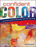 Confident Color: Art instruction book with samples of work by Shirley Nachtrieb