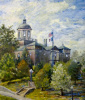 """The Old Courthouse"" by artist Ken Farris."