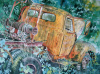 """Old Rusty"" by Artist Linda Wilmes."